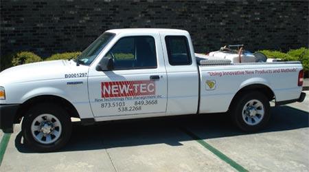 NEW-TEC truck